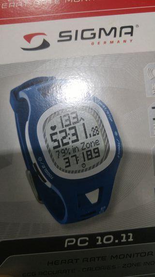 Reloj pulsometro digital sigma