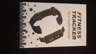 Reloj digital Fitness tracker.