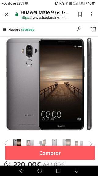 venta Huawei mate 9
