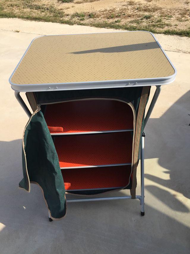 Mueble cocina camping de segunda mano por 45 € en Silla en WALLAPOP