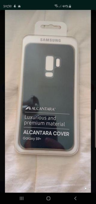 funda oficial Alcántara, S9 plus