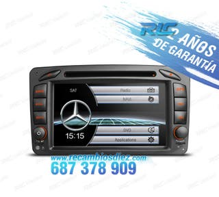 RADIO MERCEDES C CLK USB GPS TACTIL HD