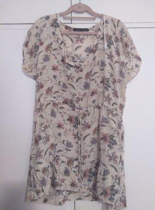 d51d5bb052 Camisas para mujer Zara de segunda mano en Sevilla en WALLAPOP