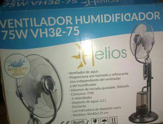 Ventilador agua humidificador de agua