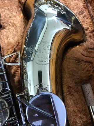 Saxofón Tenor Amati-kraslice Super Classic