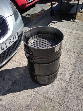 Barbacoa Barrel Q pequeño. 59 cm Multifuncional.