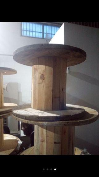Bobinas de maderas