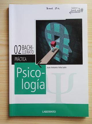 libro y cuadernillo de Psicología 2° bachillerato