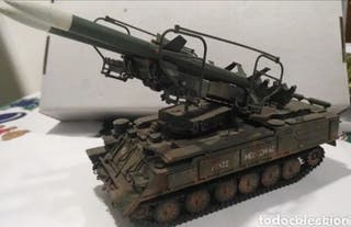 Tanque Tanque lanza cohetes SA-6 GAINFUL 1/35 Mon