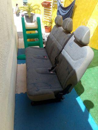 asiento triple abatible trafic primastar vivaro