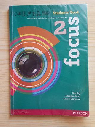 Libro de inglés focus 2 student's book