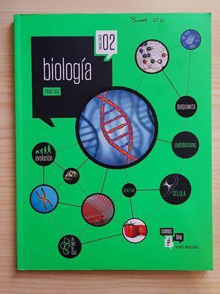 libro y cuadernillo de biología 2° de bachillerato