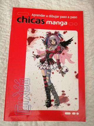 Aprende a dibujar paso a paso chicas Manga.