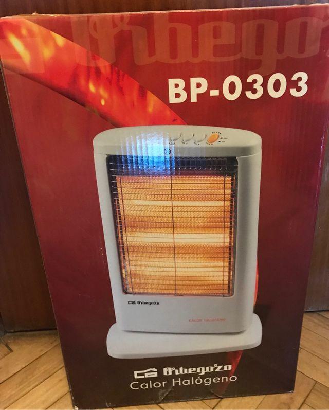 Estufa-Calentador Halógeno Eléctrico Orbegozo