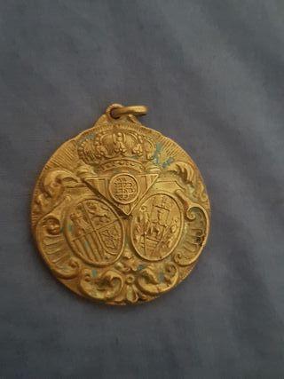 medalla del betis bodas de oro antigua conmemorati