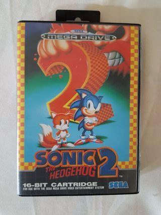 videojuego SONIC 2 sega mega drive