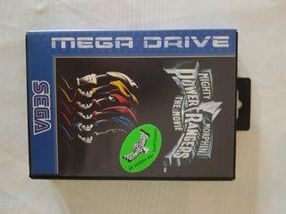 videojuego POWER RANGERS sega mega drive
