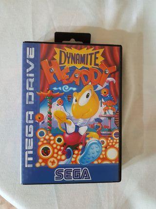 videojuego DINAMITE HEADDY sega mega drive