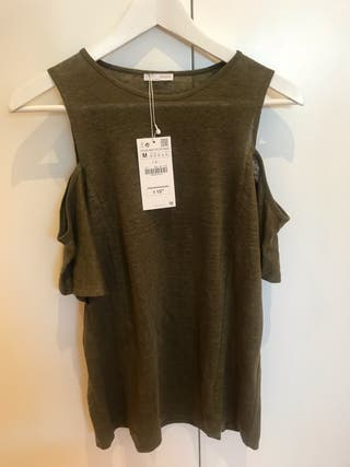 1ffe4dc0e Camisetas Zara hombre de segunda mano en Madrid en WALLAPOP
