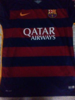 camiseta del Barcelona talla l