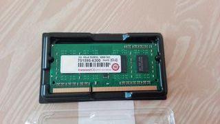 Memoria RAM de 2gb Transcend