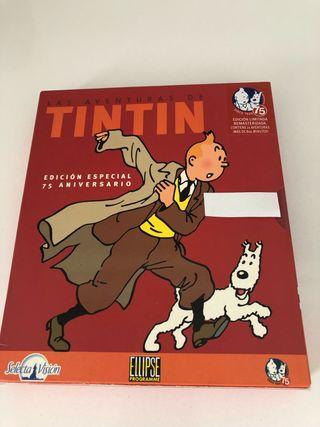 LAS AVENTURAS DE TINTÍN DVD