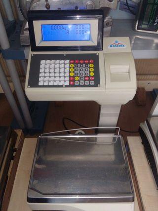 balanza con impresora