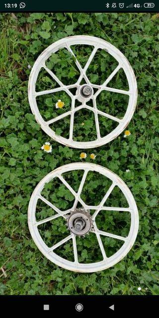 Llantas BMX (palo) vintage (plástico) tipo torrot