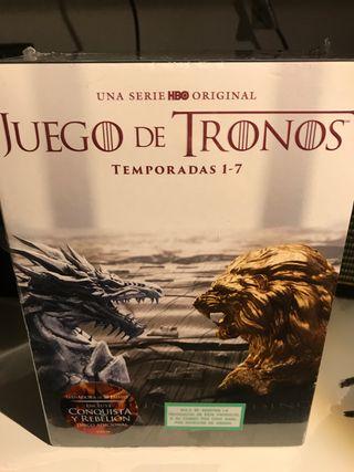 Juego de tronos temporadas 1-7 Dvd PRECINTADA