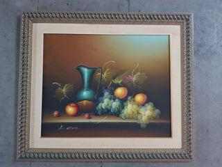 Bonito cuadro pintado en oleo