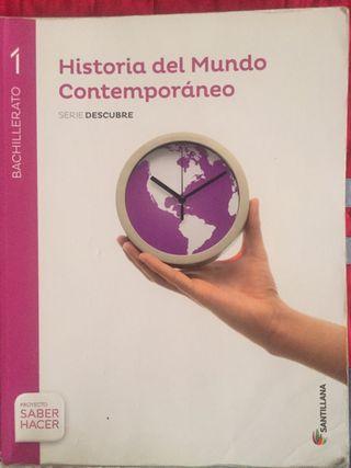 Libro Historia del Mundo Contemporáneo 1ºBACH