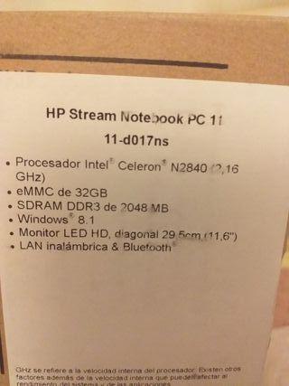 vendo portátil HP