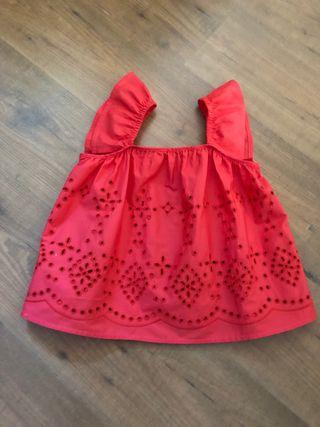 Blusa top de Zara talla 7