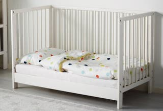 Cuna Ikea Gulliver blanco 60x120cm
