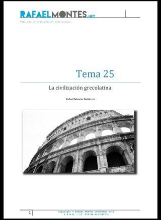TEMARIO DE SECUNDARIA GEOGRAFÍA E HISTORIA