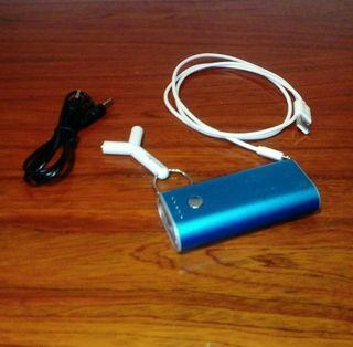Batería extra y accesorios