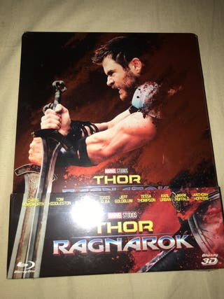 Thor ragnarok steelbook bluray 3d