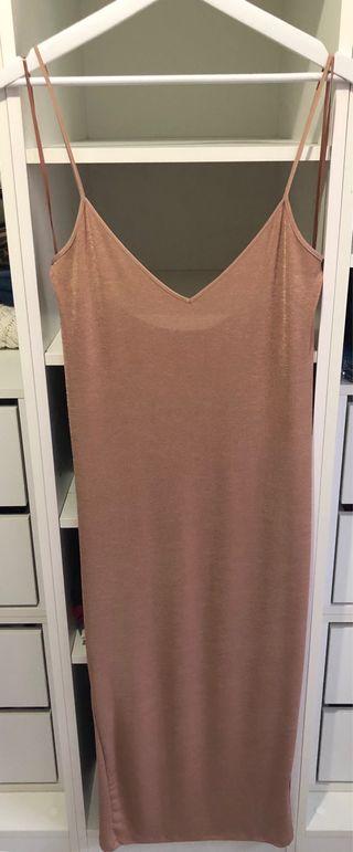 Vestido largo Zara