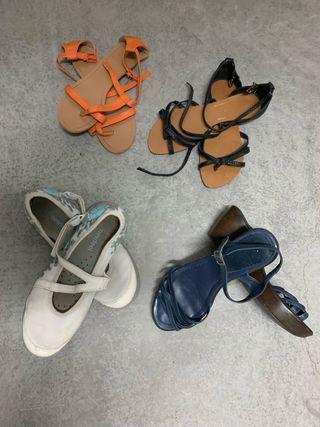Zapatos y bolsos de mujer