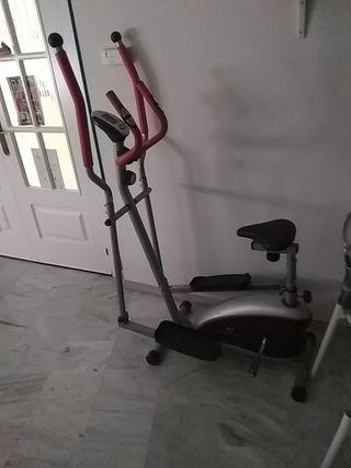 bicicleta estática/elíptica