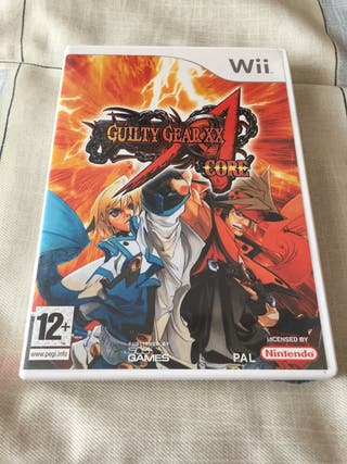 Guilty Gear XX Core Wii