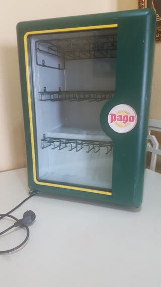 mini nevera expositora PAGO