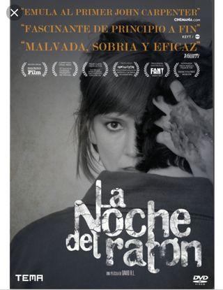 Película en dvd LA NOCHE DEL RATÓN