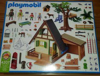 Vendo Casa Guardabosques de Playmobil