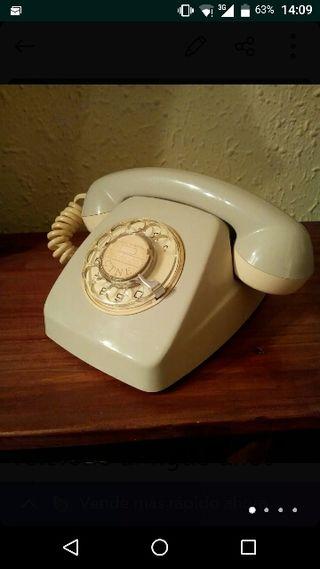 teléfono antiguo años 60