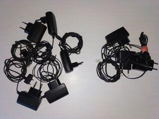 Cargadores Sony y Nokia