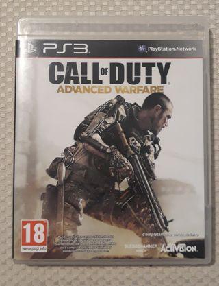 Call of Duty Advanced Warfare. Ps3