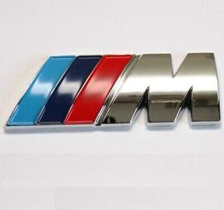 BMW logo M maletero