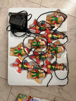 luces de Navidad disney