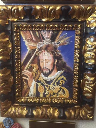 pareja cuadros nuestro padre jesus